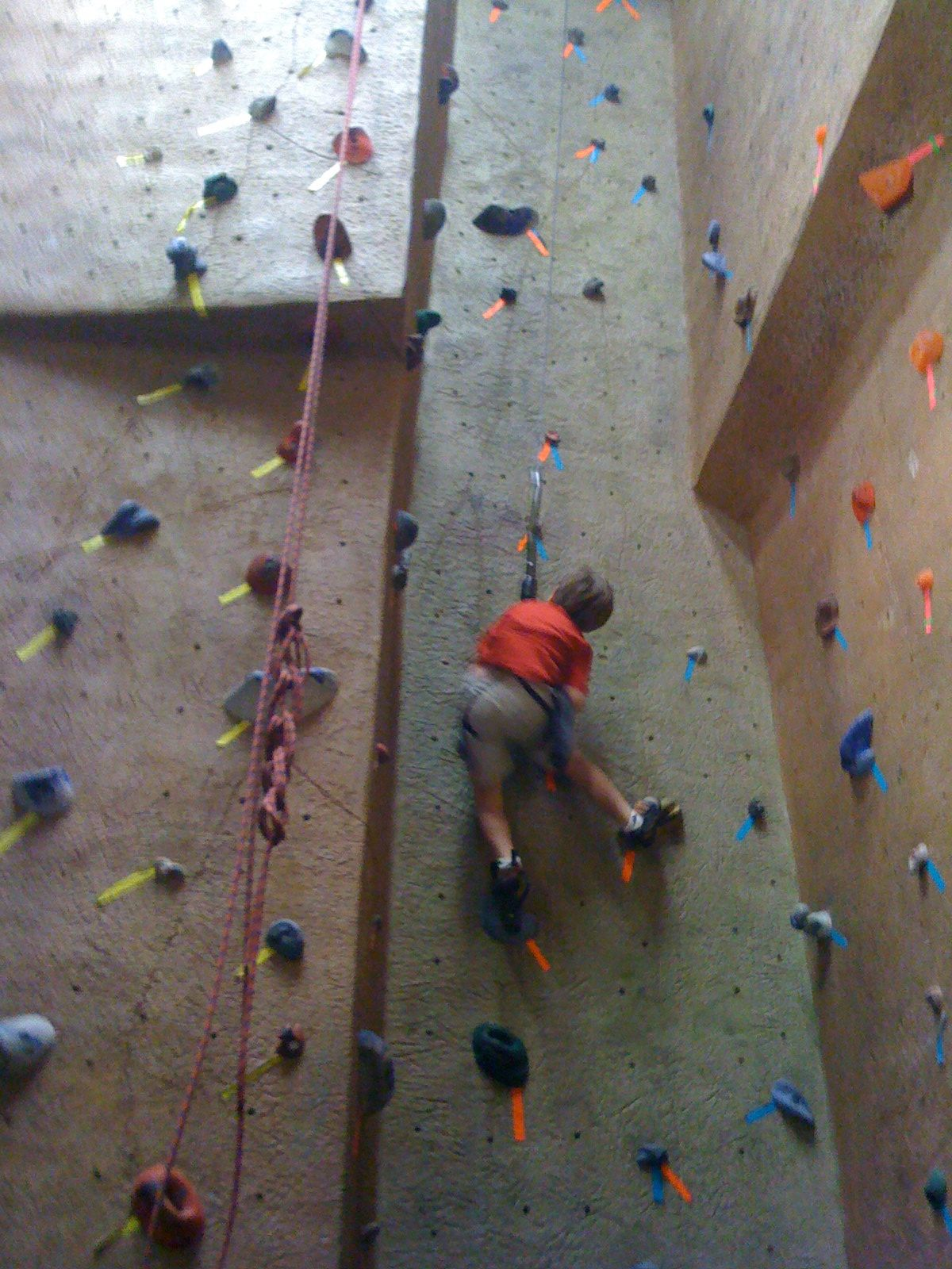 Carter rock wall
